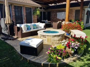 texas outdoor oasis