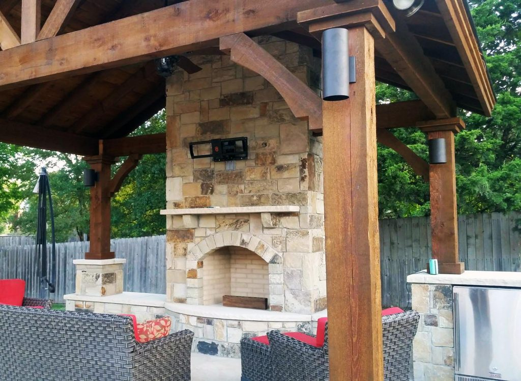 Which Type Of Outdoor Fireplace Is Right For You Texas