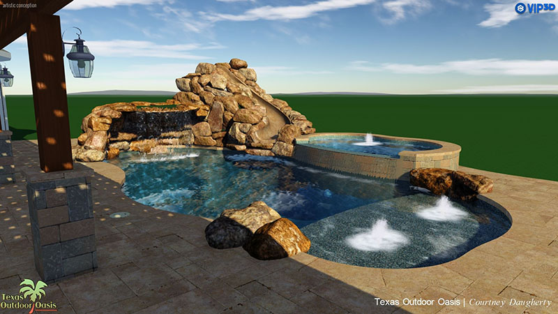 Custom Swimming Pool Design