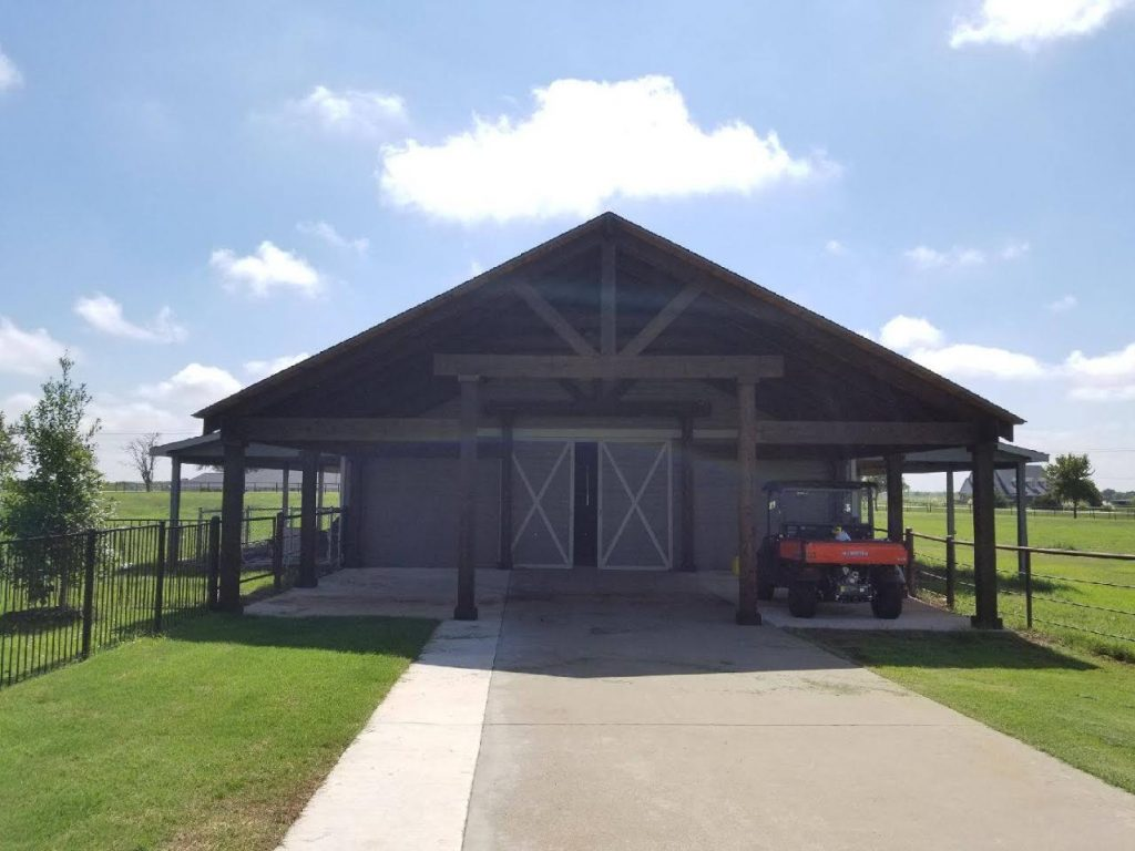 Carport Building in Rockwall, TX