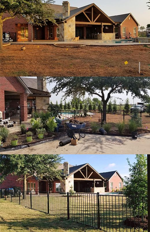 Landscaping in Rockwall, TX
