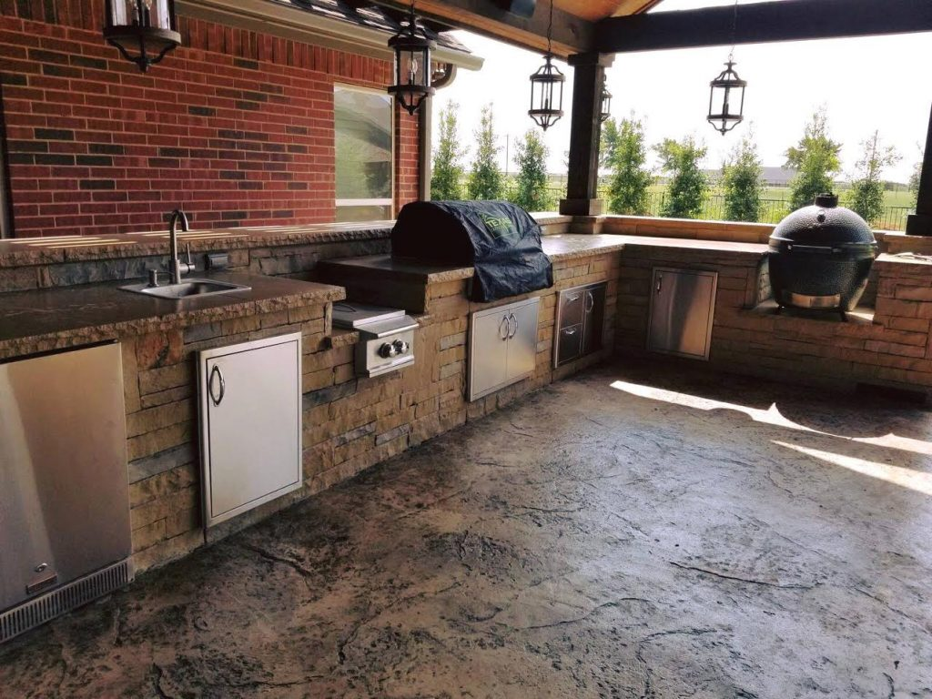 Outdoor Kitchen in Rockwall, TX