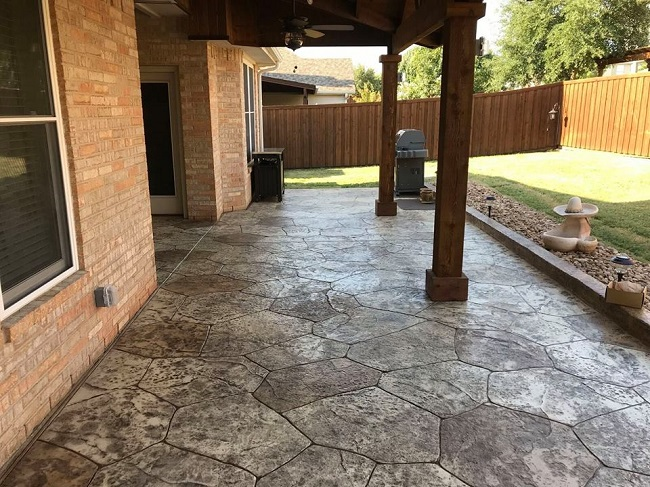 Get Gorgeous Decorative Concrete for Your Patio