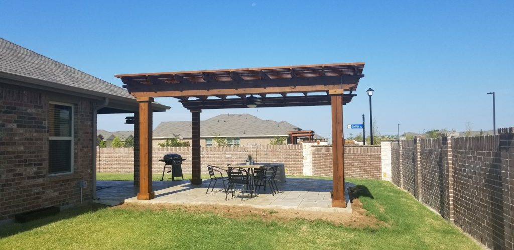 Use a Pergola to Create an Attractive BBQ Space