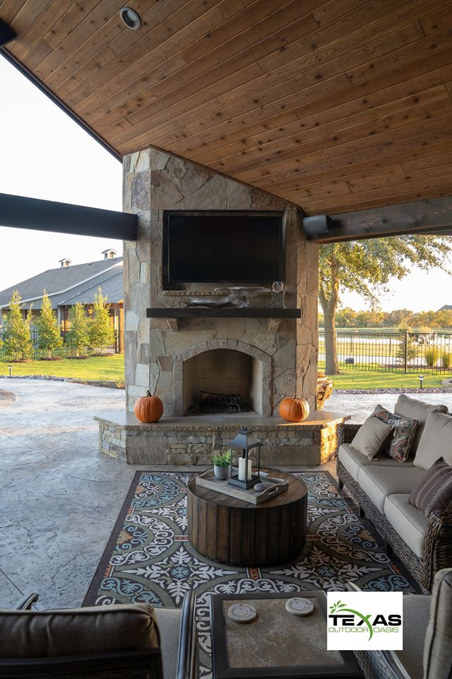 Fire Features Gallery Texas Outdoor Oasis