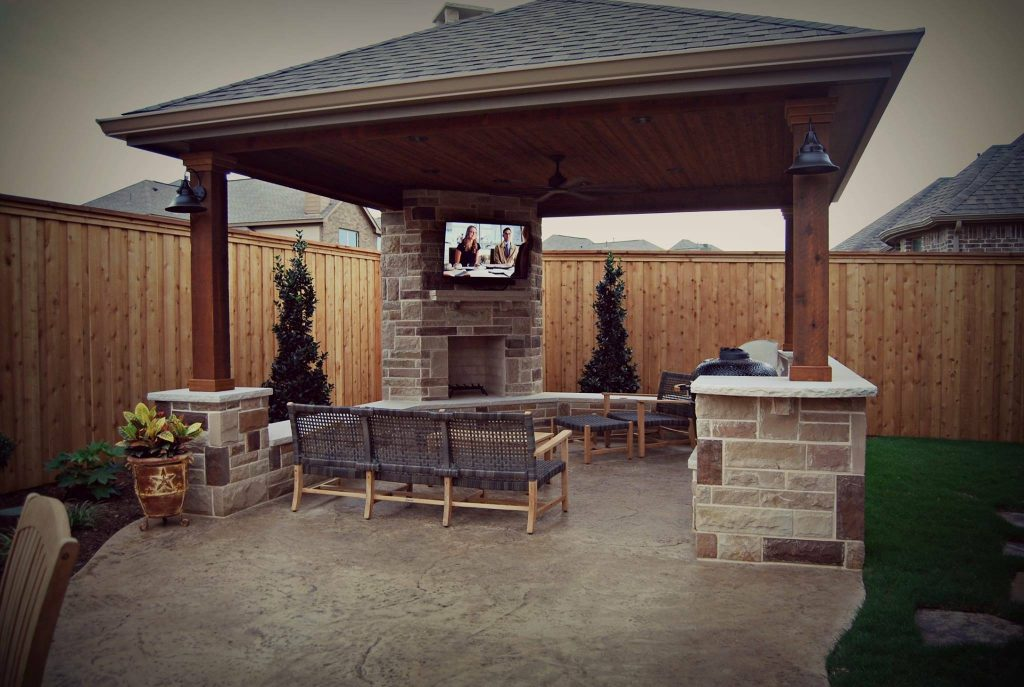 Entertain in Your Yard with the Right Custom Patio Cover