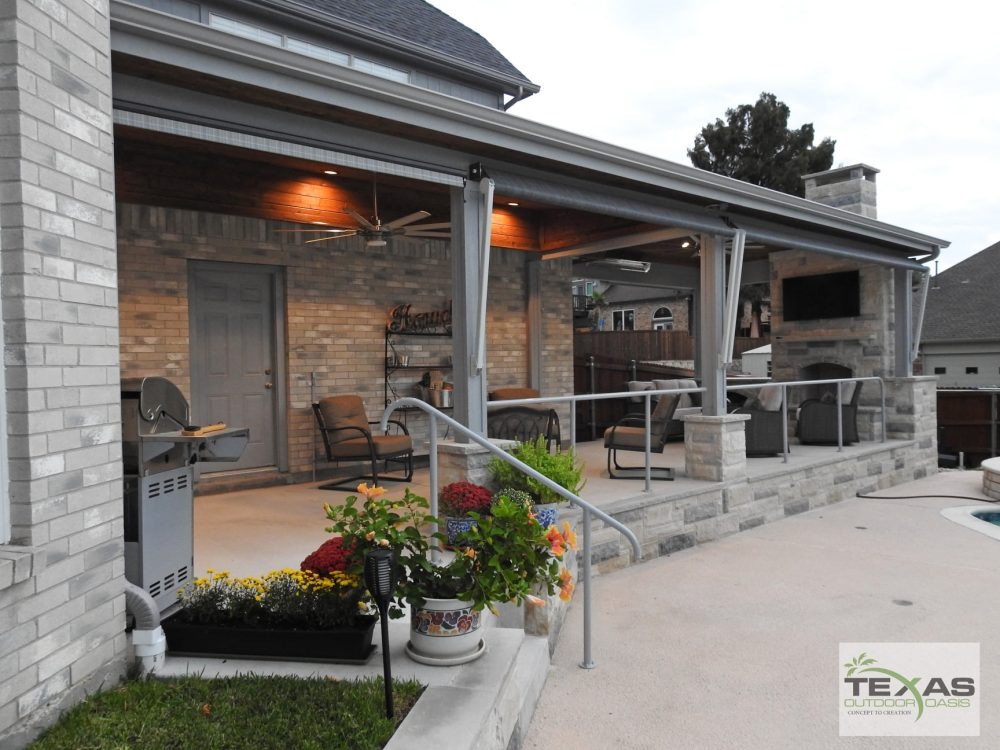 Patio Covers and Other Design Ideas for a Narrow Patio